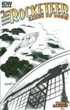 Rocketeer Cargo Of Doom #1 Incentive Chris Samnee Hand-Drawn Sketch Variant Cover