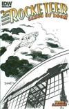 Rocketeer Cargo Of Doom #1 Incentive Chris Samnee Hand-Drawn Sketch Variant Cover