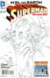 Superman Vol 4 #17 Incentive Kenneth Rocafort Sketch Cover (Hel On Earth Tie-In)
