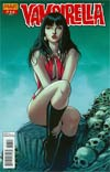 Vampirella Vol 4 #27 Incentive Jose Malaga Risque Variant Cover