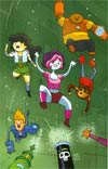 Bravest Warriors #6 Incentive Kate Leth Virgin Variant Cover