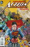 Action Comics Vol 2 #18 Variant Paolo Rivera Cover