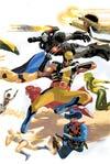 Avengers Vol 5 #8 Variant Avengers 50th Anniversary Variant Cover