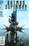 Batman Superman #1 Cover A Regular Jae Lee Cover