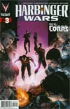 Harbinger Wars #3 Cover A 1st Ptg Regular Patrick Zircher Cover