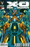 X-O Manowar Vol 3 #14 Cover A Regular Arturo Lozzi Cover