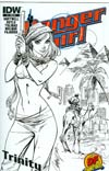 Danger Girl Trinity #1 Cover C DF Exclusive J Scott Campbell Variant Cover