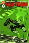 Garth Ennis Red Team #1 DF Emerald City Comicon Ryan Sook Emerald Green Exclusive Cover
