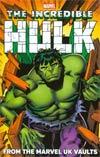 Hulk From The Marvel UK Vaults TP