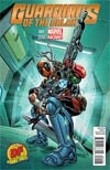 Guardians Of The Galaxy Vol 3 #1 Cover M DF Exclusive Carlo Pagulayan Deadpool Variant Cover (Special discount for a limited time!)