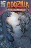 Godzilla Half-Century War #5 Incentive Simon Roy Variant Cover