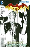 Batman Vol 2 #19 Incentive Greg Capullo Sketch Variant Cover