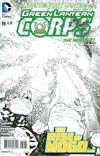 Green Lantern Corps Vol 3 #19 Incentive Andy Kubert Sketch Cover (Wrath Of The First Lantern Tie-In)
