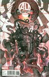 Age Of Ultron #6 Incentive Rock-He Kim Ultron Variant Cover