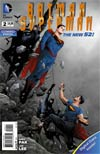 Batman Superman #2 Cover B Combo Pack With Polybag