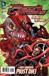 Red Lanterns #22 Cover A Regular Gabe Eltaeb Cover