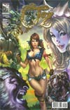 Grimm Fairy Tales Presents Oz #1 Cover D 1st Ptg E-Bas Connecting Right Side Dorothy