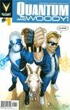 Quantum & Woody Vol 3 #1 Cover A 1st Ptg Regular Ryan Sook Cover