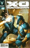 X-O Manowar Vol 3 #15 Cover A Regular Trevor Harisine Cover