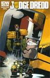Judge Dredd Vol 4 #9 Cover A Regular Nelson Daniel Cover