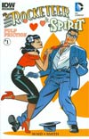 Rocketeer Spirit Pulp Friction #1 Cover B Variant Darwyn Cooke Subscription Cover