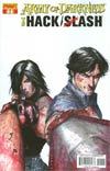 Army Of Darkness vs Hack Slash #1 Cover A Regular Stefano Caselli Cover