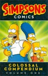 Simpsons Comics Colossal Compendium Vol 1 TP
