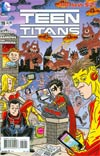Teen Titans Vol 4 #19 Incentive MAD Magazine Variant Cover