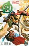 Avengers Vol 5 #10 Variant Avengers 50th Anniversary Cover