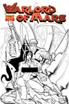 Warlord Of Mars #24 High-End Lui Antonio Black & White Risque Ultra-Limited Cover (ONLY 25 COPIES IN EXISTENCE!)