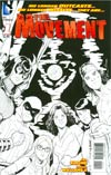 Movement #1 Incentive Amanda Conner Sketch Cover
