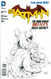 Batman Vol 2 #20 Incentive Greg Capullo Sketch Cover