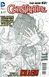 Constantine #3 Incentive Juan Jose Ryp Sketch Cover