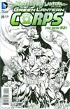 Green Lantern Corps Vol 3 #20 Incentive Andy Kubert Sketch Cover (Wrath Of The First Lantern Tie-In)