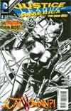 Justice League Of America Vol 3 #3 Incentive David Finch Sketch Cover