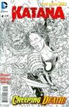 Katana #4 Incentive Juan Jose Ryp Sketch Cover