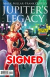 Jupiters Legacy #1 Midtown Exclusive J Scott Campbell Variant Cover Signed by Mark Millar (Proceeds to benefit Mark Millars School Fund)