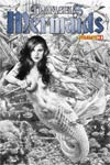 Damsels Mermaids #1 Incentive Jay Anacleto Black & White Cover