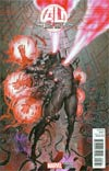 Age Of Ultron #8 Incentive Rock-He Kim Ultron Variant Cover