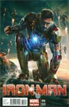 Iron Man Vol 5 #10 Incentive Movie Variant Cover