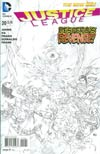 Justice League Vol 2 #20 Incentive Ivan Reis Sketch Cover (Trinity War Prelude)
