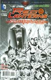 Red Lanterns #20 Incentive Miguel Sepulveda Sketch Cover (Wrath Of The First Lantern Tie-In)