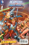 DC Universe vs Masters Of The Universe #1 Cover B Masters Of The Universe
