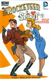 Rocketeer Spirit Pulp Friction #2 Cover B Variant Darwyn Cooke Subscription Cover