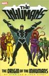 Inhumans Origin Of The Inhumans TP