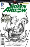 Green Arrow Vol 6 #21 Cover B Incentive Andrea Sorrentino Sketch Cover