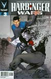 Harbinger Wars #3 Cover C Incentive Khari Evans Variant Cover