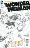 Wonder Woman Vol 4 #21 Cover B Incentive Cliff Chiang Sketch Cover