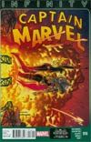 Captain Marvel Vol 6 #16 (Infinity Tie-In)