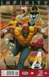 Mighty Avengers Vol 2 #1 Cover A Regular Greg Land Cover (Infinity Tie-In)